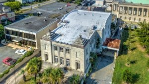 Aerial Photo of Former Shriners Temple