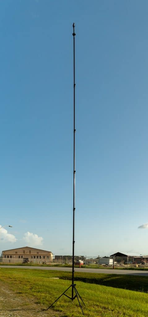 Pole Aerial Photography for Construction Site at RAFB